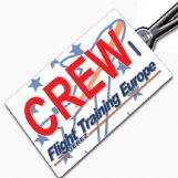 FLIGHT TRAINING EUROPE - crew tag